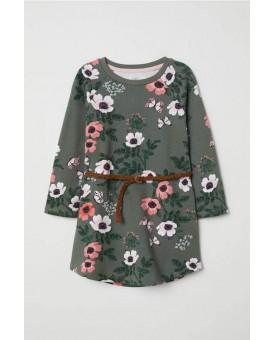 Плаття-туніка в квіточку