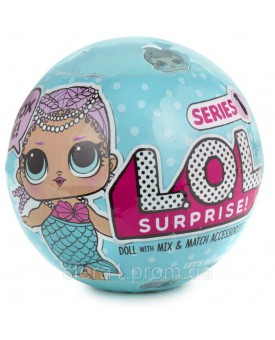 Лялька LOL Surprise  Series 1  Ultimate Collection Merbaby