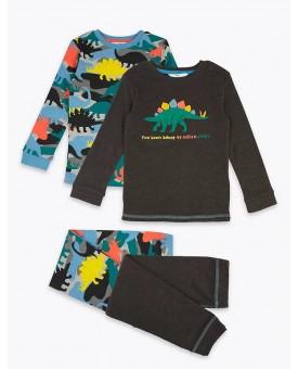 Піжама M&S  з динозаврами