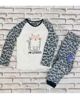 Флісова піжама  Cat