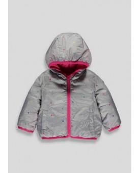 Двостороння курточка на дівчинку
